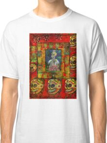 DAY OF THE DEAD Angel Goth Girl  Classic T-Shirt