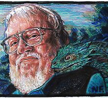 George R. R. Martin Father Of Dragons by NeilFeigeles