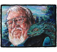 George R. R. Martin Father Of Dragons Photographic Print