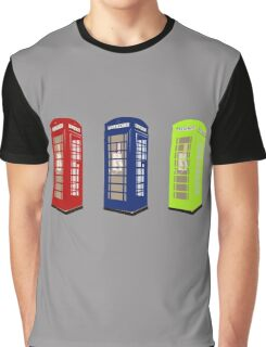 The Phone Booths Graphic T-Shirt