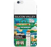 Silicone Valley - Collage Illustration by Loose Petals iPhone Case/Skin