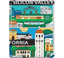 Silicone Valley - Collage Illustration by Loose Petals iPad Case/Skin