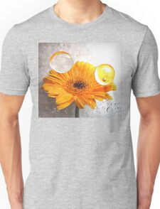 yellow flora  Unisex T-Shirt