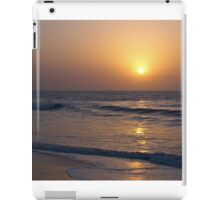 Sunset over Atlantic Ocean iPad Case/Skin