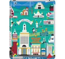Oakland - Collage Illustration by Loose Petals iPad Case/Skin