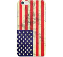 USA flag hearts iPhone Case/Skin