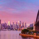 Sydney Harbour Bridge Dawn, New South Wales, Australia by Michael Boniwell