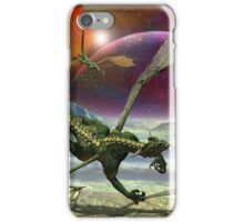 Fantasy Landscape with Dragons iPhone Case/Skin