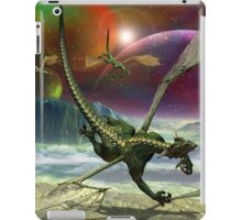 Fantasy Landscape with Dragons iPad Case/Skin