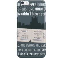 Blue - Downton Abbey  iPhone Case/Skin