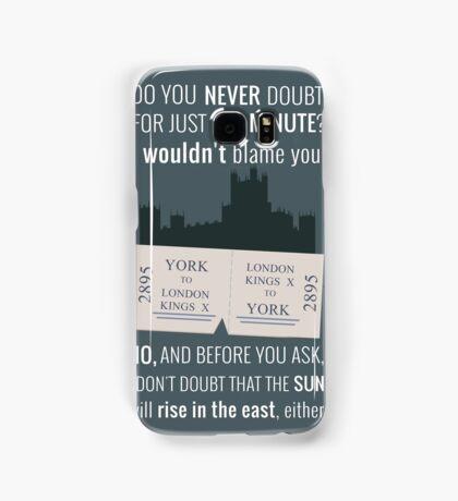 Blue - Downton Abbey  Samsung Galaxy Case/Skin
