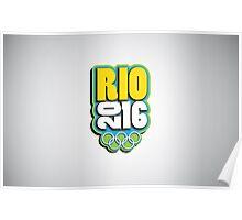 Rio 2016 - Olmypics Poster