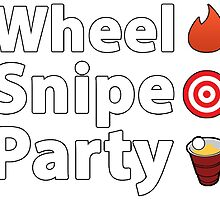 Wheel Snipe Party - Hockey / Lacrosse Apparel by barlett22