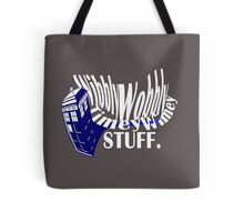 """Wibbly Wobbly"" Tote Bag"
