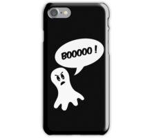 Booo ghost halloween iPhone Case/Skin