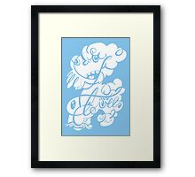 The Doodle family Framed Print