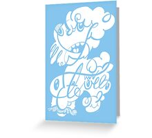 The Doodle family Greeting Card