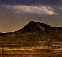 lonely dark mountain by 827  Photography