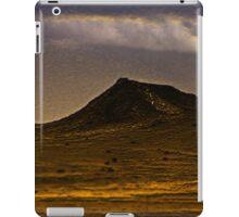 lonely dark mountain iPad Case/Skin