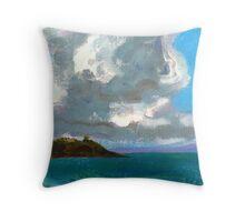 Bannisters Headland by Stephanie Burns Throw Pillow