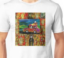 Joy Riding Day of the Dead Unisex T-Shirt
