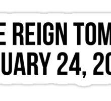 Freddie Reign Tomlinson Conchobar Sticker