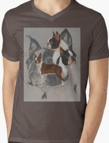 Boston Terrier/Ghost T-Shirt