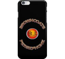 Browncoats Persephone on Black iPhone Case/Skin