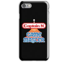 Captain N : The Game Master iPhone Case/Skin