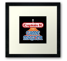 Captain N : The Game Master Framed Print