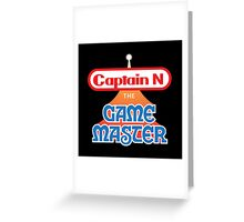 Captain N : The Game Master Greeting Card