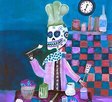 Day of the Dead Chef by dayofthedeadart