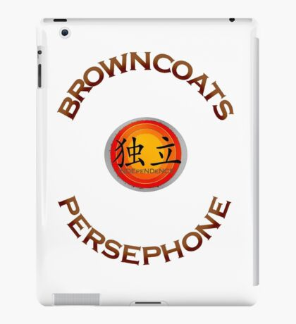 Browncoats Persephone iPad Case/Skin