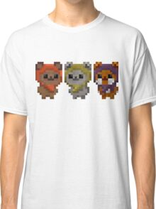 Ewok Pixel Art Classic T-Shirt