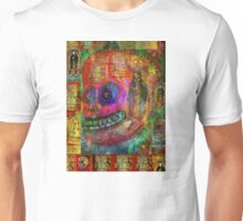 Day of Dead - Cráneo Rojo  Unisex T-Shirt