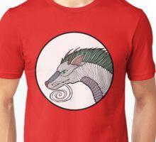 Haku Dragon Doodle Unisex T-Shirt