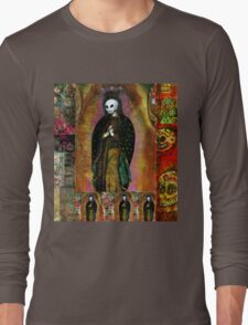 Day of the Dead Icon Madonna art Long Sleeve T-Shirt
