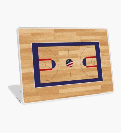 BasketWoodCourt Laptop Skin