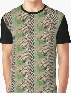 Zebra - African Wildlife - Tranquility Pose Graphic T-Shirt