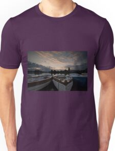 Boating Lake at Thorpness Unisex T-Shirt