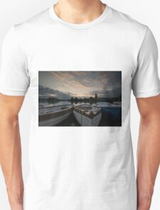 Boating Lake at Thorpness T-Shirt