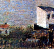 Georges Seurat The Suburbs Sticker