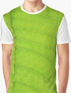 Go Green, Save the Earth - Mother Nature' Veins Graphic T-Shirt