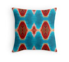 Monkey Mia 26 by Stephanie Burns Throw Pillow
