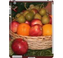 Basket of Deliciousness iPad Case/Skin
