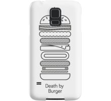 Death by Burger Samsung Galaxy Case/Skin