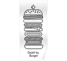 Death by Burger Poster