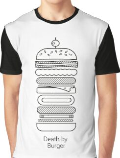 Death by Burger Graphic T-Shirt