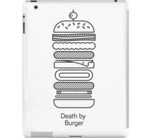 Death by Burger iPad Case/Skin