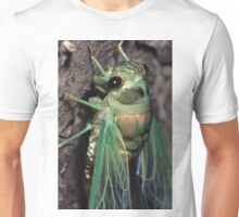 Cicada of Emerald & Gold Unisex T-Shirt